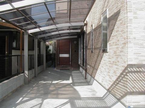 福岡市 新築住宅 駐車場
