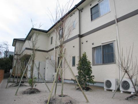 福岡市 グループホーム 裏庭