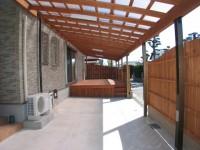 久留米市 新築住宅 駐車場(カーポート)