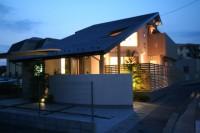 福岡市 新築住宅 夜景