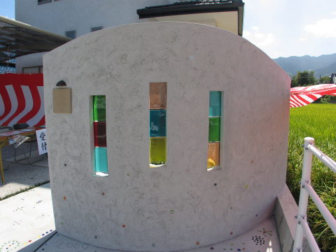 糸島市 新築住宅 ダルガラス入壁