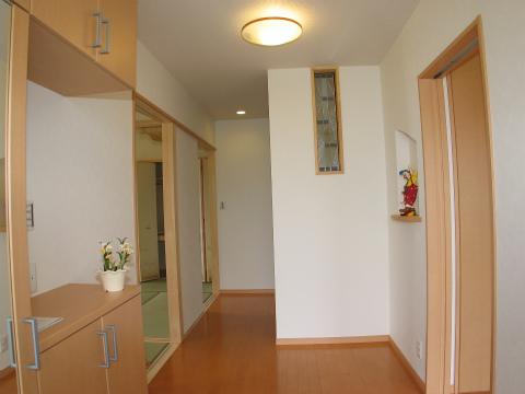 糸島市 新築住宅 玄関ホール