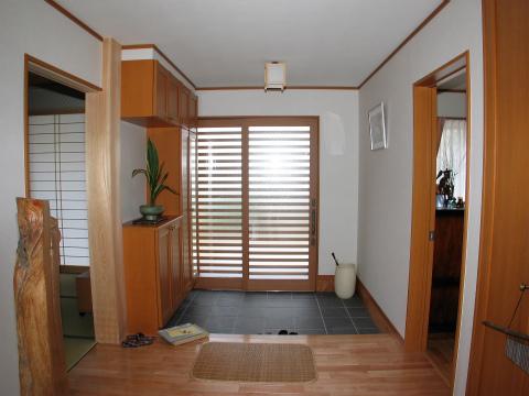福岡市 新築住宅 玄関ホール