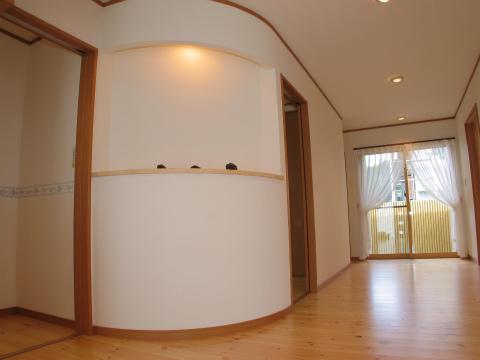 筑紫郡 新築住宅 玄関ホール