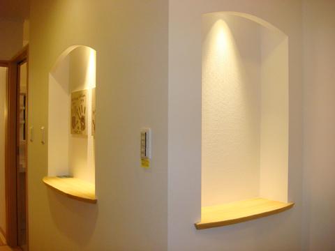 福岡市 新築住宅 飾り棚