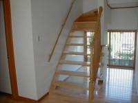 福岡市 新築住宅 スリット階段
