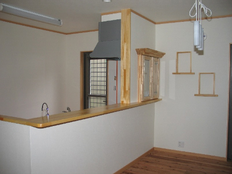春日市 新築住宅 キッチン