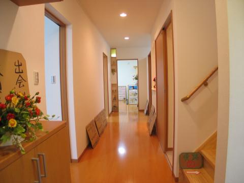 糸島市 新築住宅 廊下
