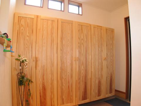 福岡市 新築住宅 造作玄関収納