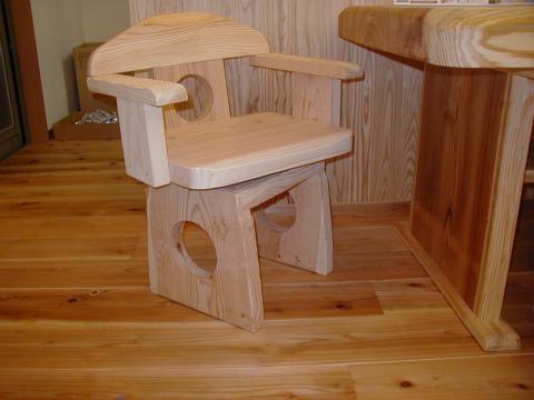 福岡市 新築住宅 造作椅子