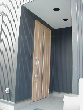 福岡市 新築住宅 玄関