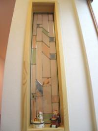糸島市 新築住宅 ステンドグラス