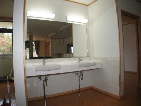 福岡市 グループホーム 洗面コーナー