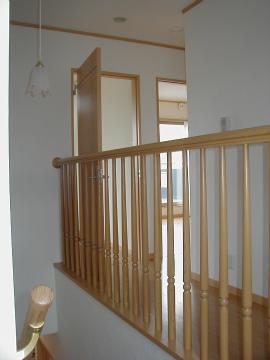 筑紫郡 新築住宅 階段ホール