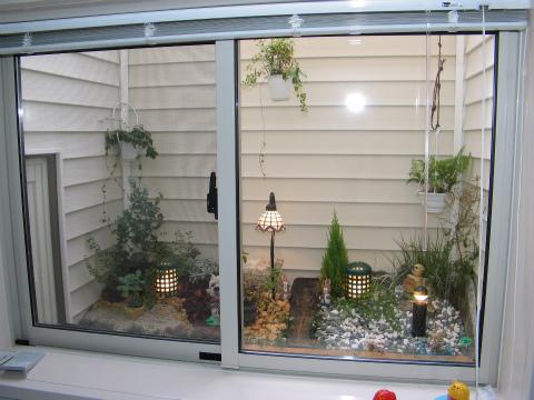 福岡市 新築住宅 浴室ガーデン