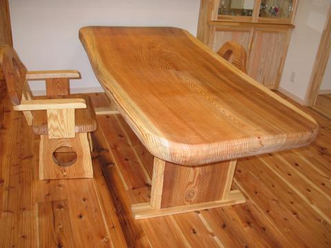 福岡市 新築住宅 手づくりテーブル