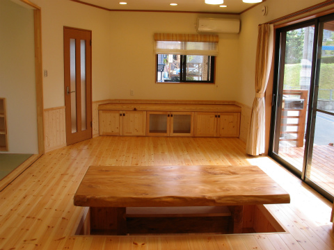 福岡市 新築住宅 オーダー家具・テーブル