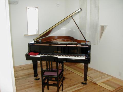 春日市 新築住宅 ピアノ室