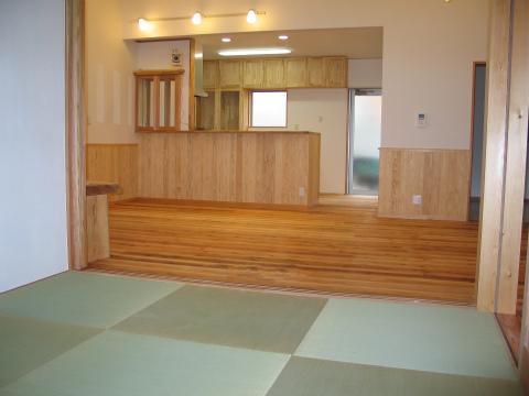 福岡市 新築住宅 和室~リビング