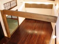 福岡市 新築住宅 2階ホールから見下ろし