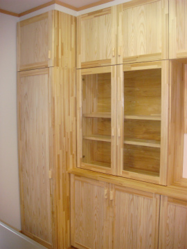 福岡市 新築住宅 造作食器棚
