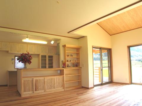 糸島市 新築住宅 リビング