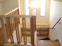 春日市 新築住宅 階段ホール