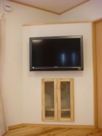 福岡市 新築住宅 壁掛TV