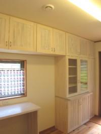 糸島市 新築住宅 造作食器棚