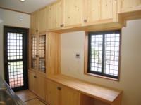 福岡市 新築住宅 造作キッチン収納
