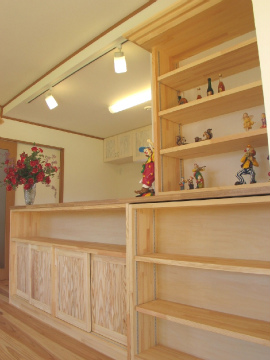 糸島市 新築住宅 造作収納