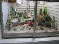 筑紫郡 新築住宅 浴室ガーデン