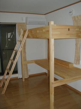 福岡市 新築住宅 オーダー家具・ベッド