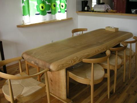 福岡市 新築住宅 2手づくりテーブル