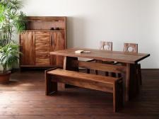 TESTA ダイニングテーブル ベンチ サイドチェアー