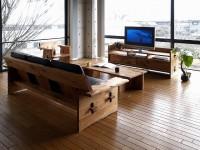 ONDA ソファ センターテーブル センターボード アームチェアー