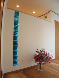 ガラスブロック施工例 K様邸 福岡市南区