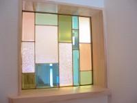 ステンドグラス施工例 K様邸 糸島市神在