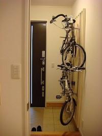 福岡市中央区 IK様邸 自転車掛
