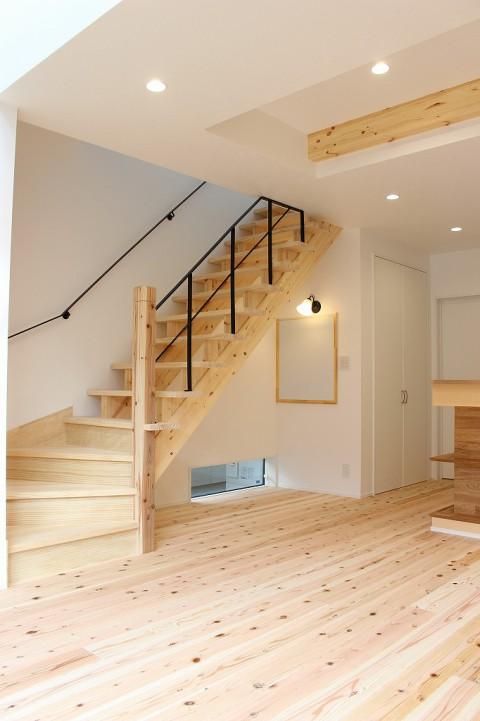 リビング階段5