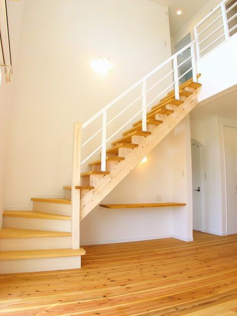 リビング階段4