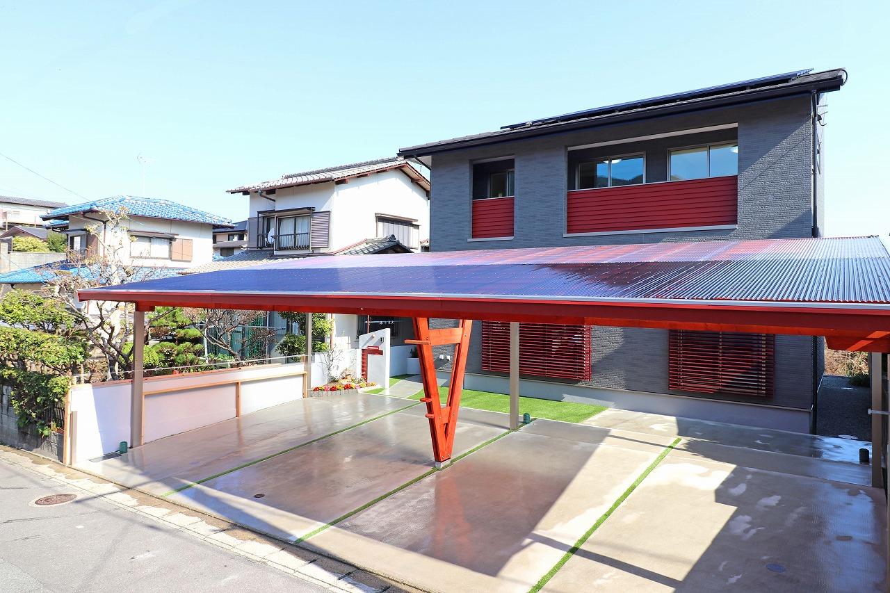 福岡市西区野方モデルハウス