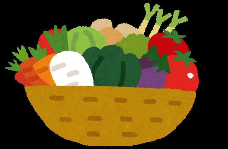 福岡市の野菜の盛り合わせ