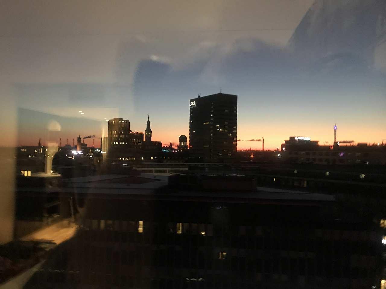 デンマークの夜明け